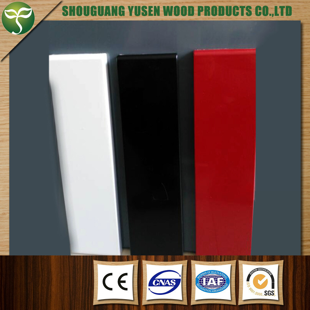 MDF Board with PVC for Kitchen Cabinet Doors Use