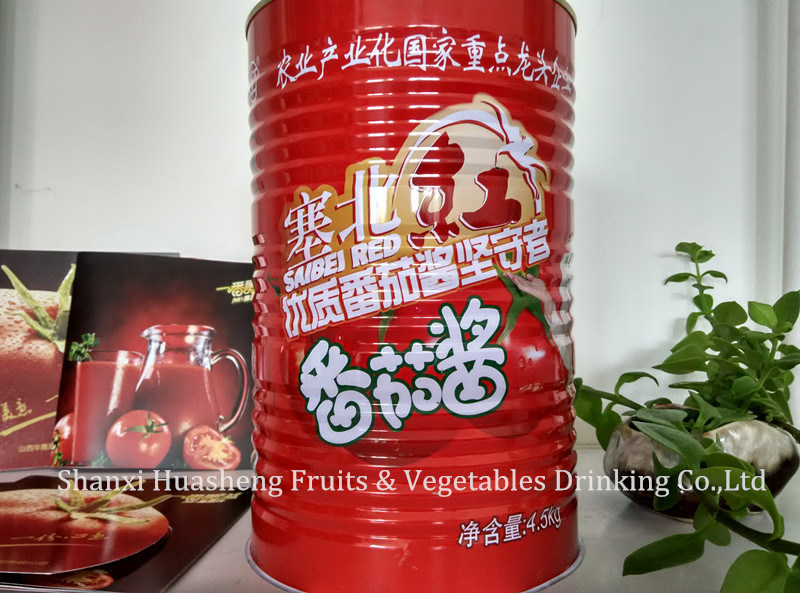 4.5kg*6 22%-24% Canned Tomato Paste