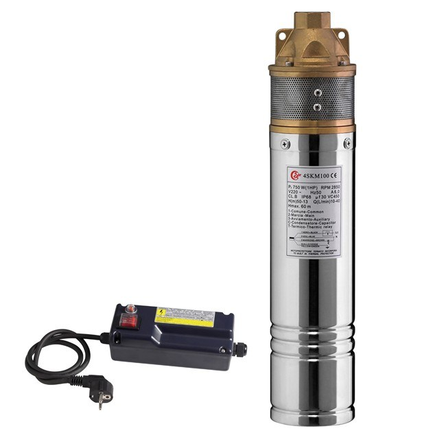 """3"""" ~ 6"""" Electric Submersible Multistage Borehole Water Pumps for Deep Well (QJ)"""