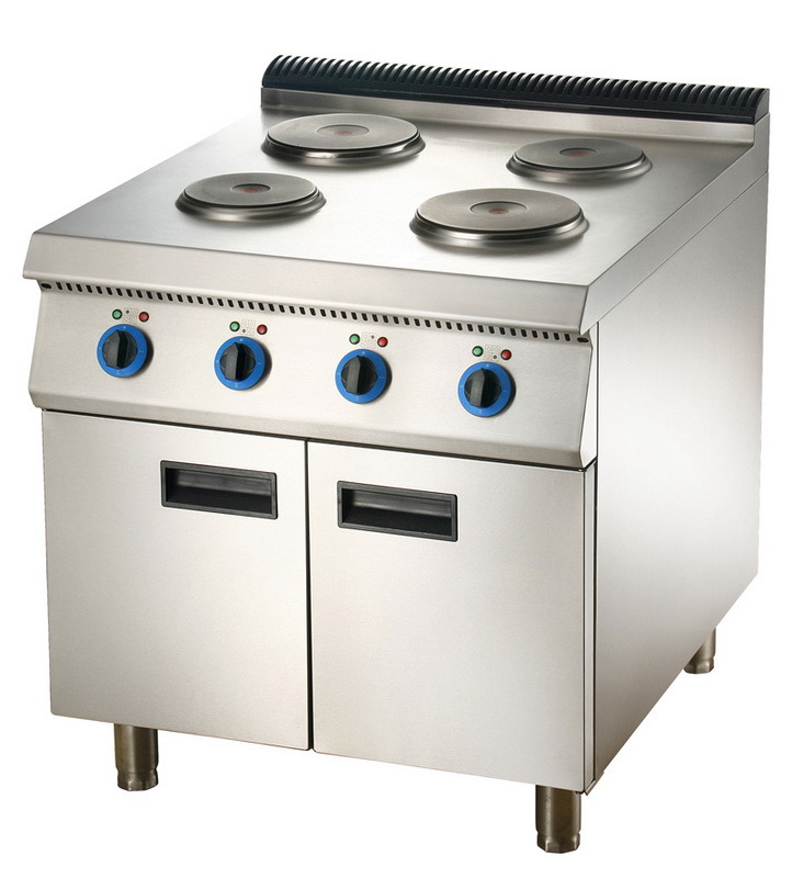 Electric 4-Plate Cooker with Cabinet (LER-94C/74C)