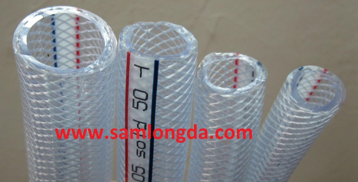 Flexible PVC Reinforced Braid Hose (15*32)