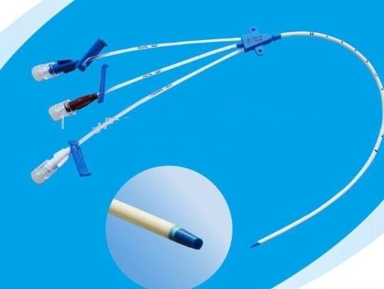 Disposable Triple Lumen Central Venous Catheter
