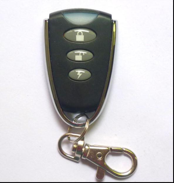 Garage Door Automatic Light: Automatic Door Openers Remote, Blue Indicator Light, 3