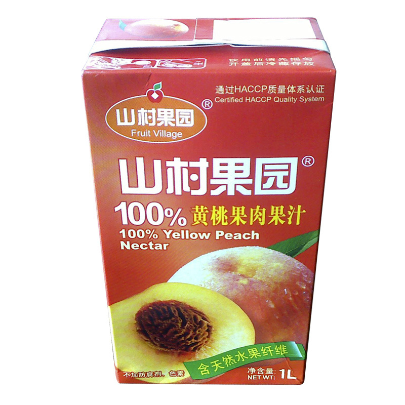 Aseptic Juice Brick Carton