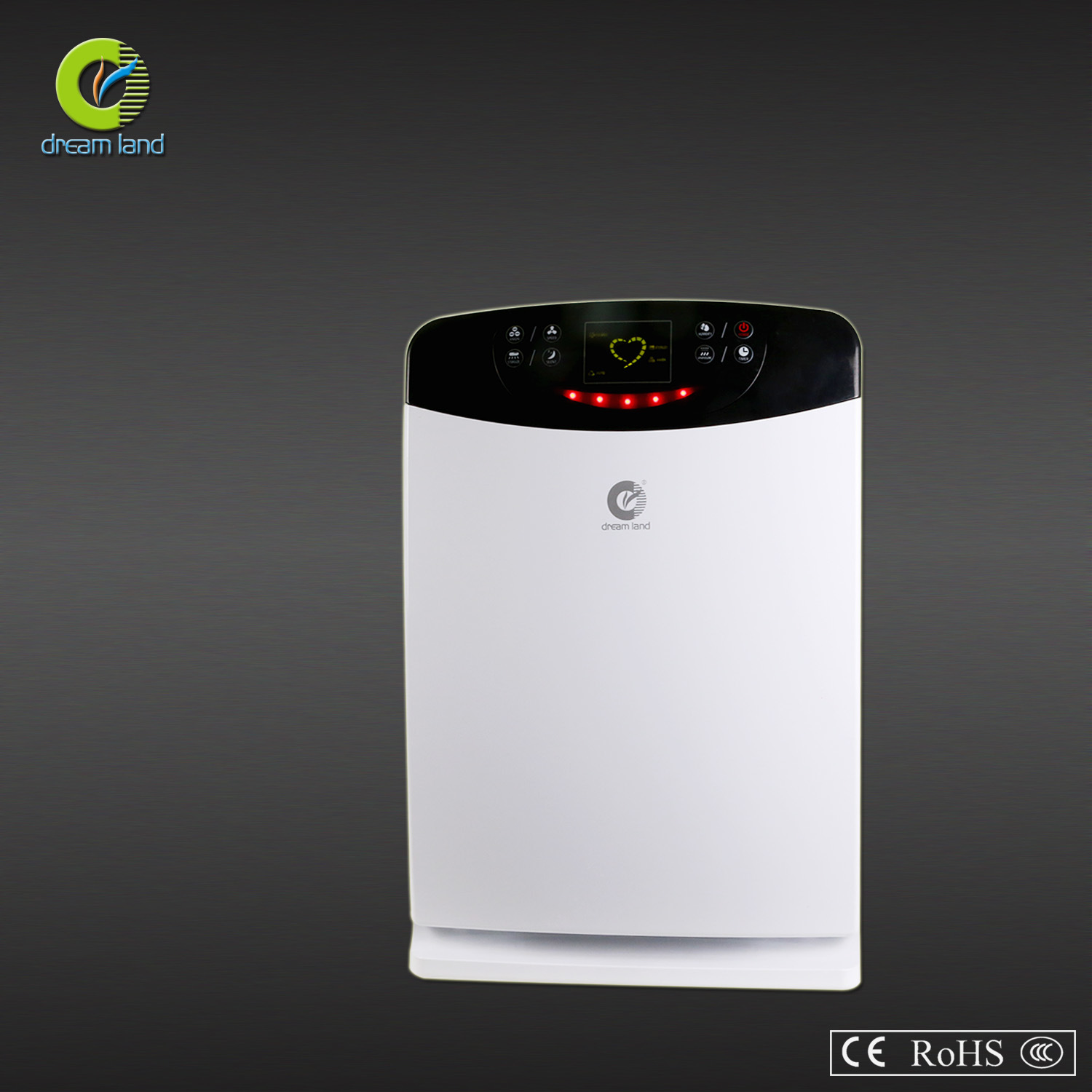 Air Purifier with Cold Catalyst, HEPA, UV, Negative Ion and Humidifier (CLA-07B)