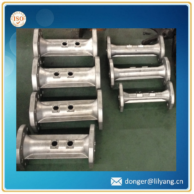 Casting Stainless Steel Pipe, SUS304 Water Meter Body Flange Type