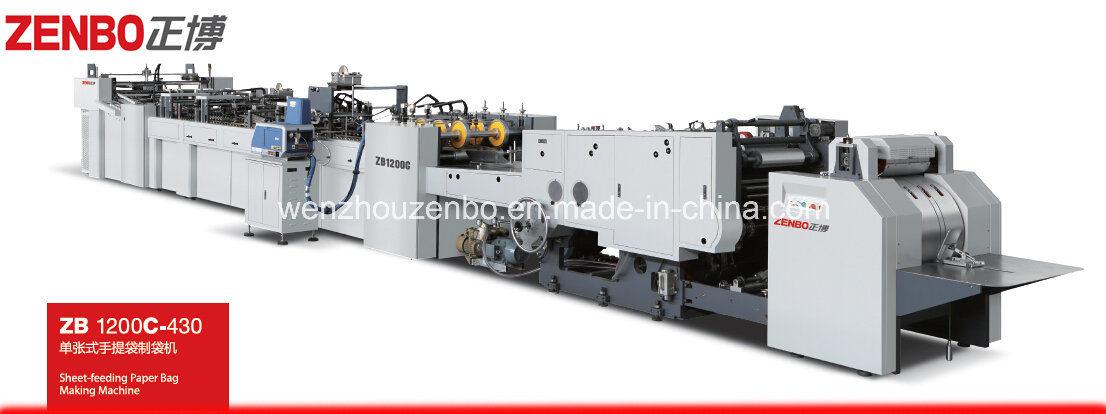 Automatic Sheet Feeding Paper Bag Making Machine China Manufacturer