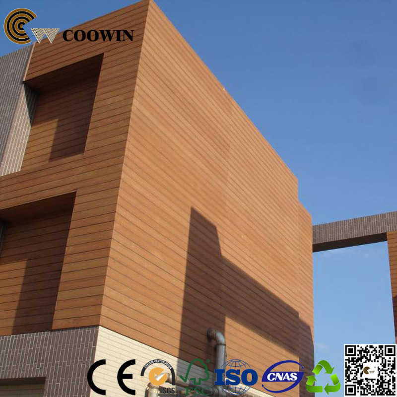Exterior Wall WPC Panel Wooden Cladding
