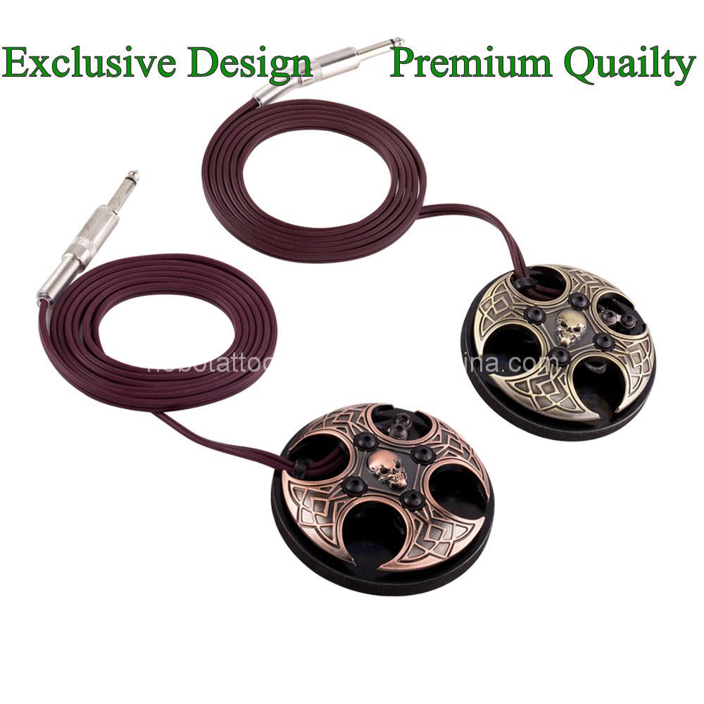Exclusive Design Premium Skull Tattoo Foot Pedal Switch