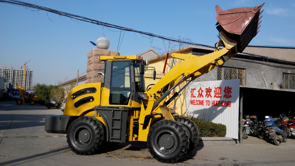 2t Mutifuctional Machine Zl20/Hzm 920 Wheel Loader