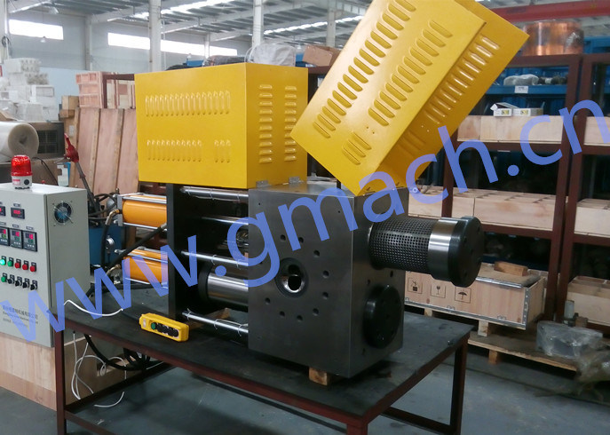 Double Piston Large Capacity Continuous Extrusion Screen Changer