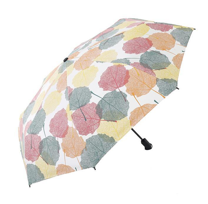 Fashion UV Protection Sun Rain 3 Folding Umbrella