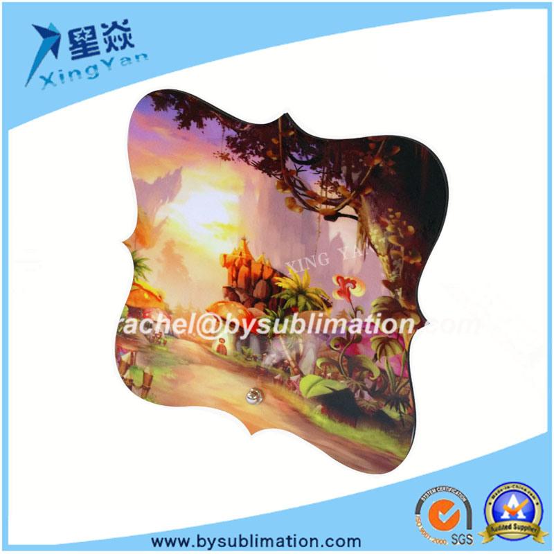 Square Flower Shape 3mm MDF Photo Frame