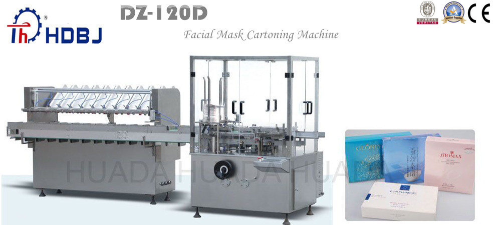 2015 Facial Mask Cartoning Machine with CE
