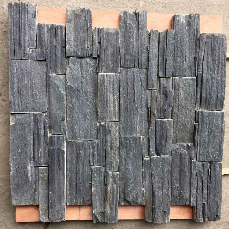 Natural Exterior Wall Granite Stacked Stone Cladding (SMC-CC163)