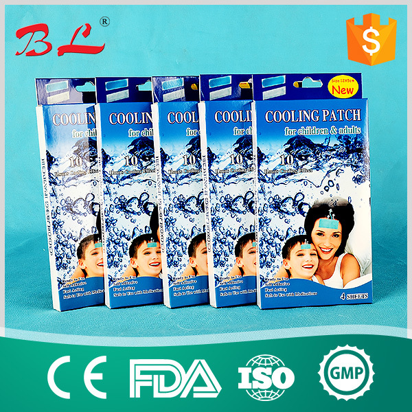 Cooling Gel Patch for Kids Cold Therapy Fever and Headache Pain Relief