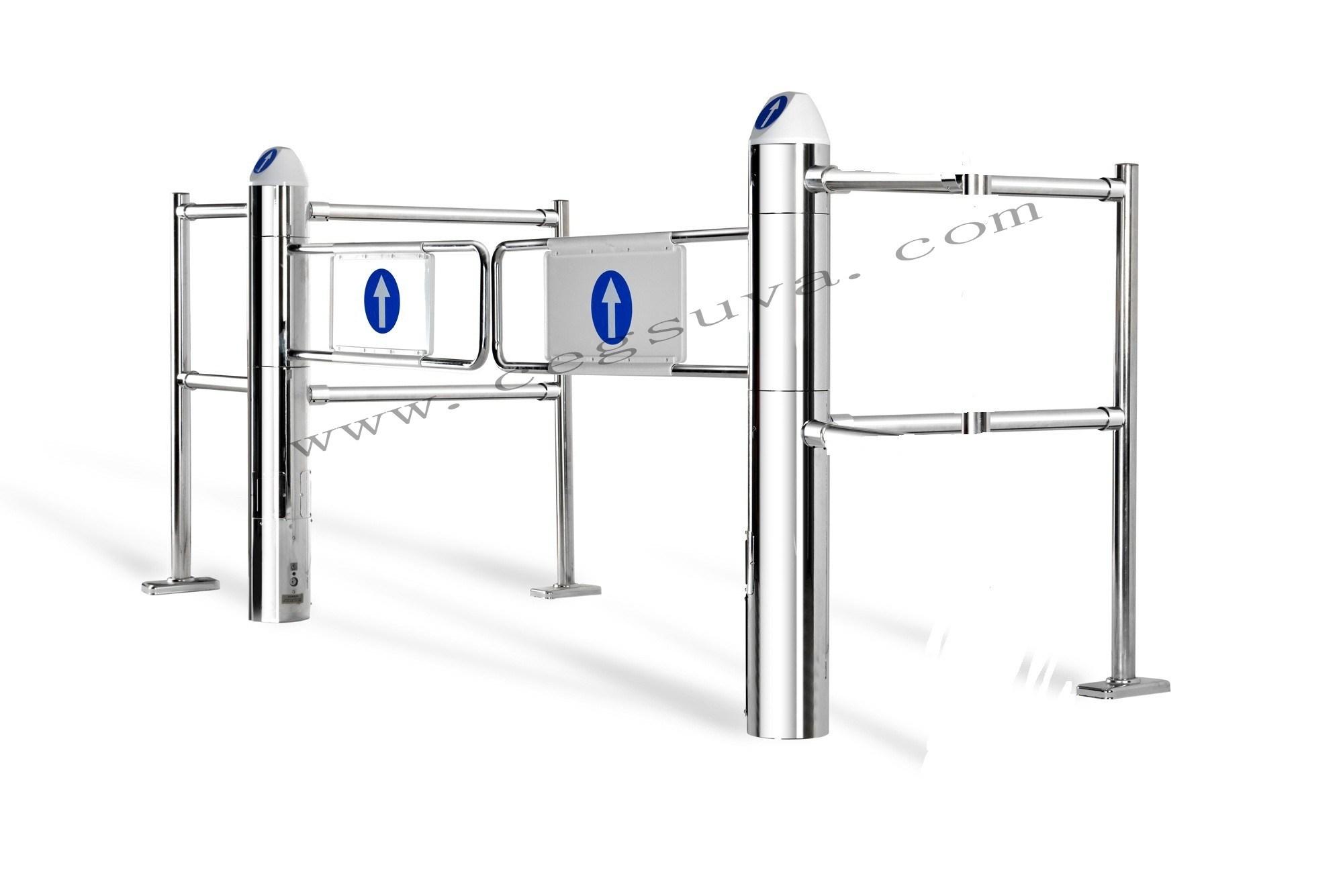(CE) Supermarket Entrance Gate, Electric Gate, Automatic Gate, Rotogate, Swing Gate