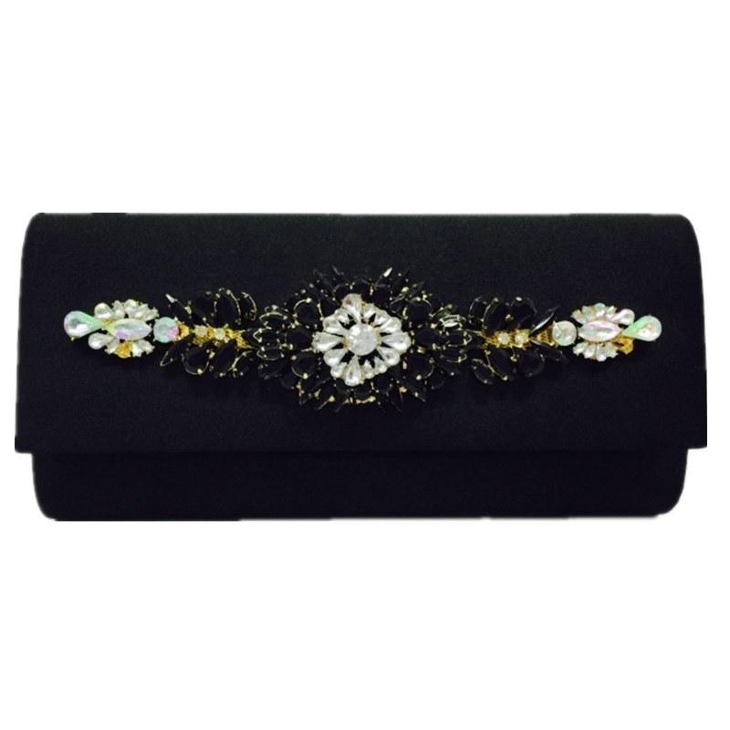 Black Fashion Bag Simple and Elegant Eveningbag