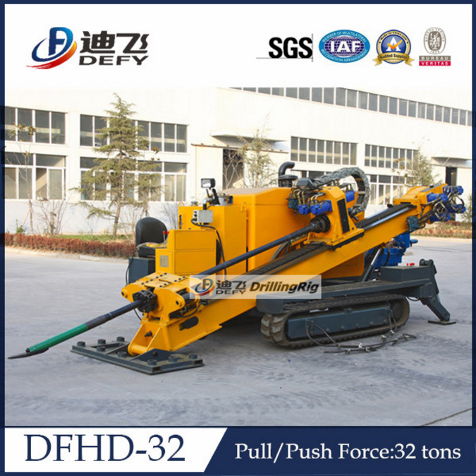 horizontal directional drilling. dfhd-32 horizontal directional drilling machine, trenchless rig for sale