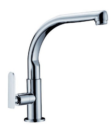 China Single Handle Cold Water Kitchen Tap Faucet 8827