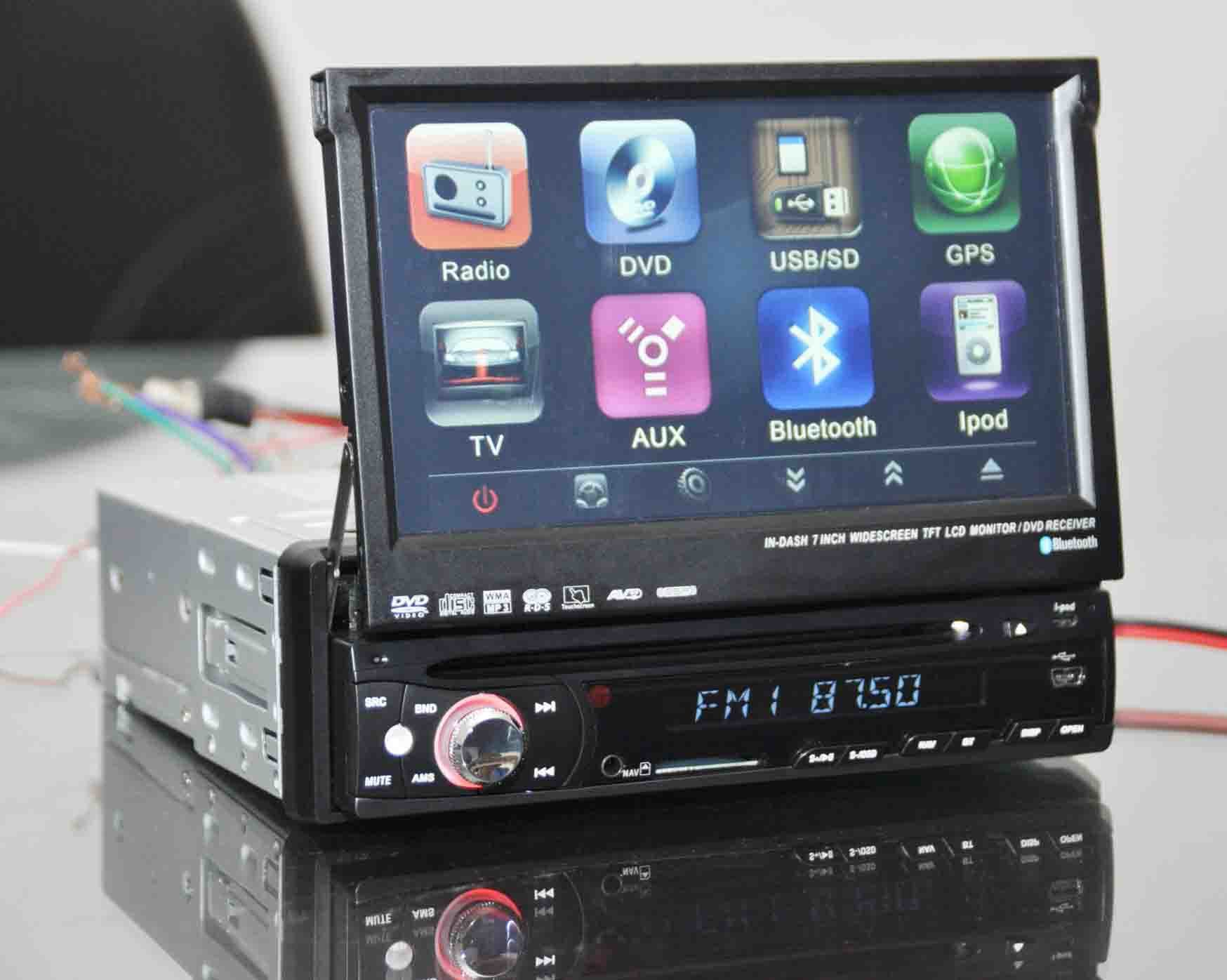 Hd car dvd player