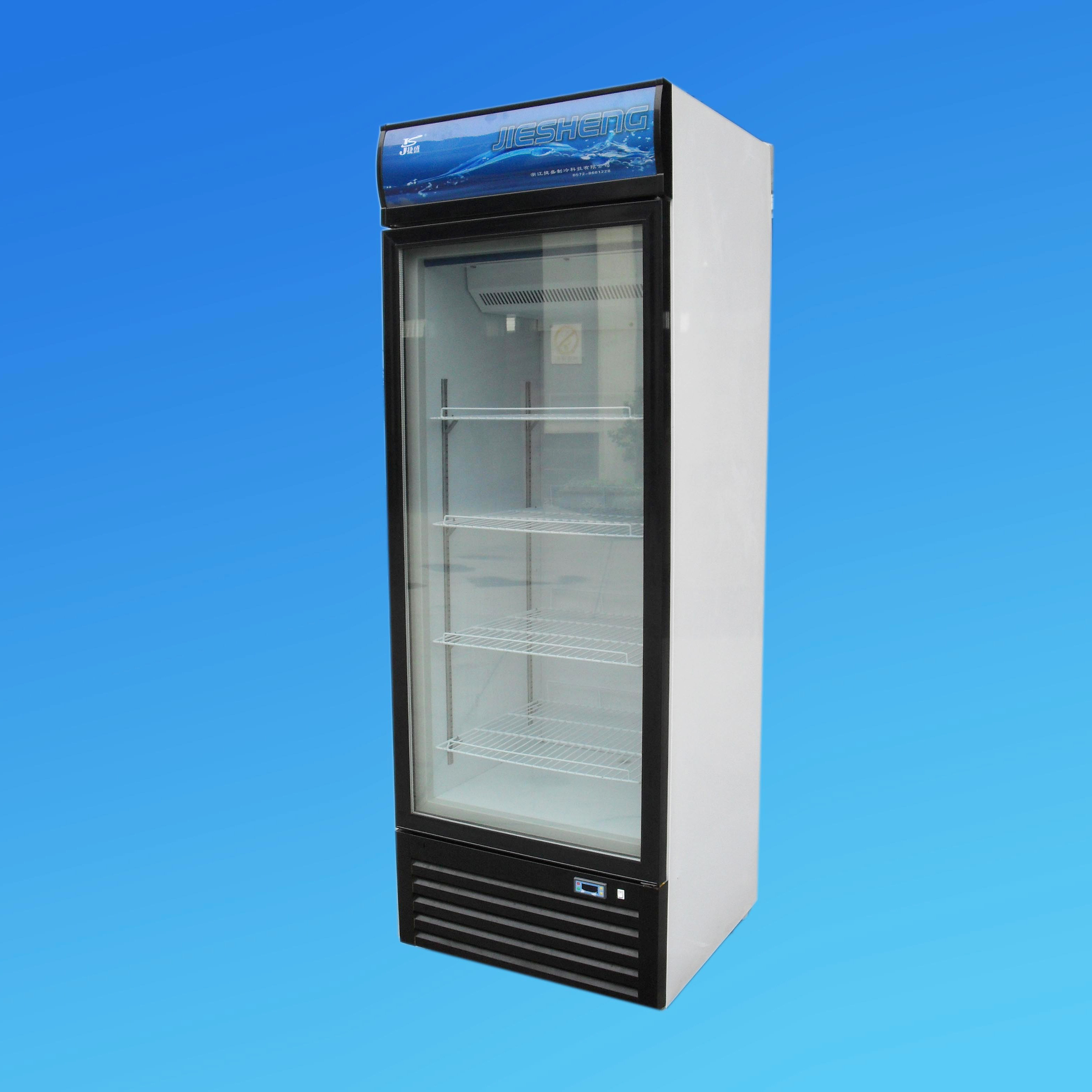 Upright Freezer, Display Freezer, Ice Cream Freezer LSD-368