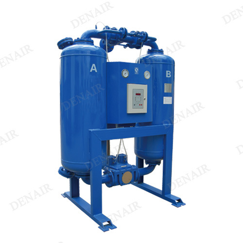 Heatless Purge Desiccant Air Dryer