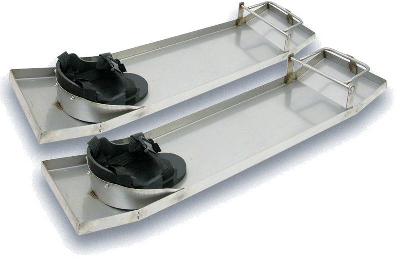 Stainless Steel Knee Boards with Pads (MC113)