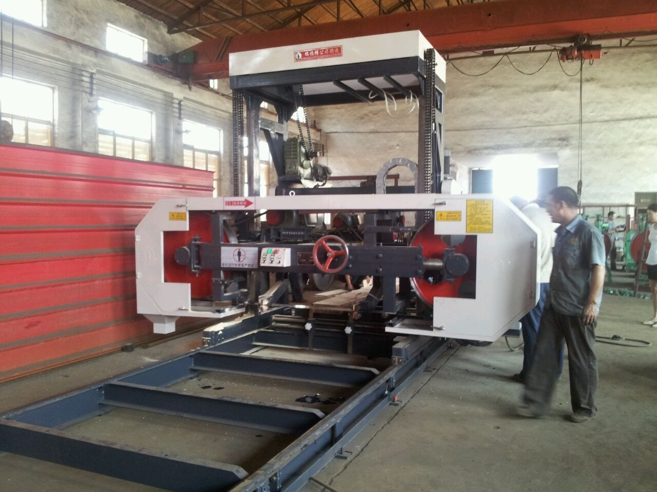 Mj3709 Horizontal Saw Mills Cut Wood Machine