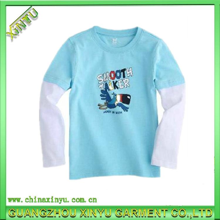 China 2014 wholesale light up plain cotton kids t shirts for Cheap plain colored t shirts