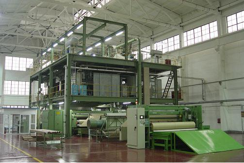 2400mm Ss Production Line for PP Spu Bond Non Woven Machine