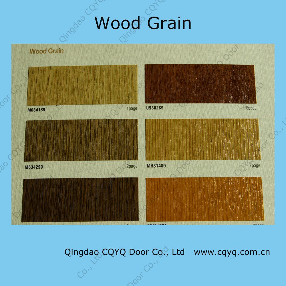 China available grage door wood color hp001 china for Garage door colors