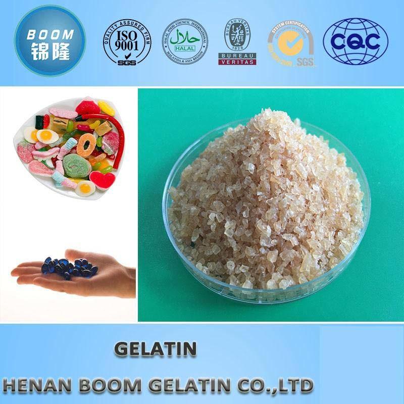 Edible Gelatin (halal certificate)