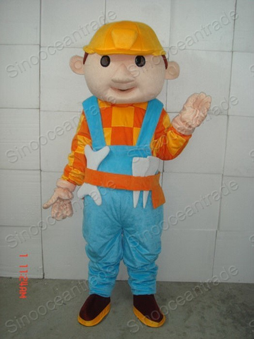 Bob The Builder Adult Costume 94