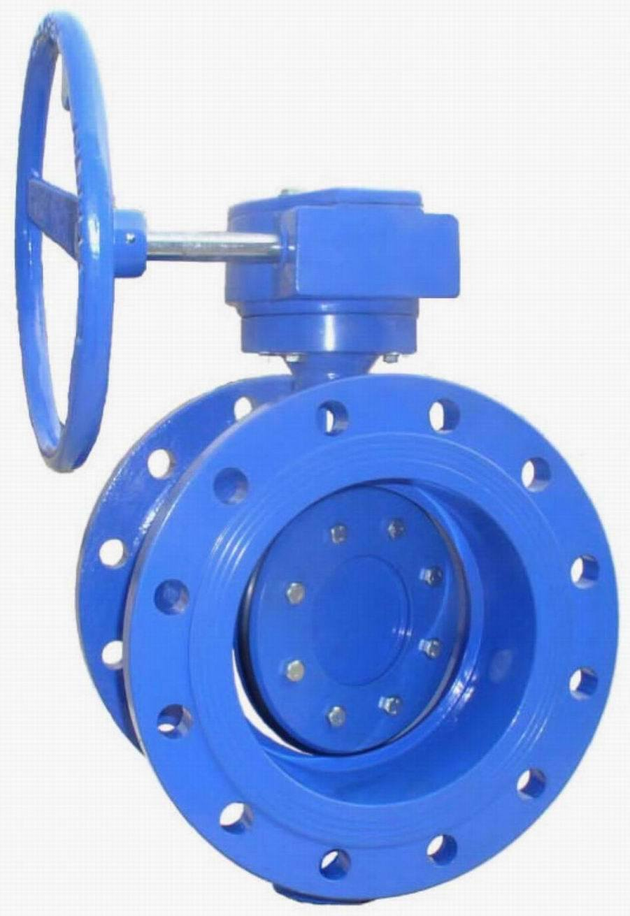 butterfly valve flanged long