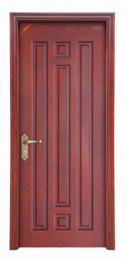 china real solid wood door qx 8807 china solid doors wooden doors