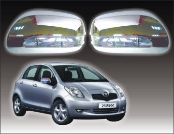 China door mirror cover with led for toyota yaris china for Miroir yaris