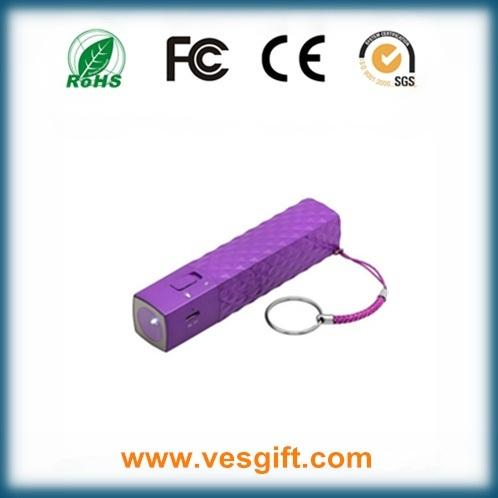 2600mAh Mascara Shape Power Bank Best External Cell Phone Battery
