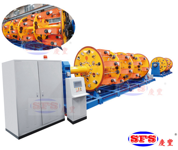 High Quality Twisting Machine Strander Machine Planetary Cage Type Machine Twisting Cabler Twisting Stranding Bunching Machine Cable Machine Wire Machine