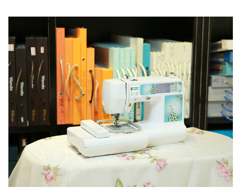 Small Household Embroidery and Sewing Machine Wy1300 in China