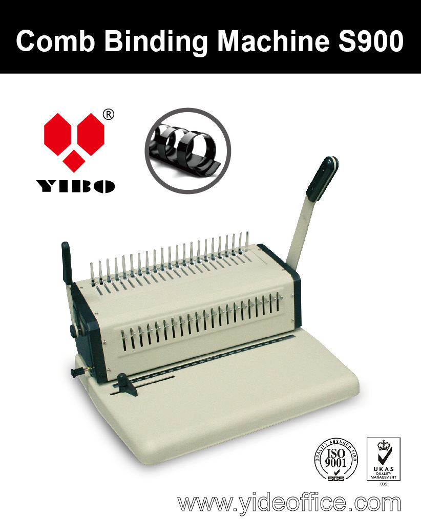 A4 Steel Comb Binding Machine (S900)