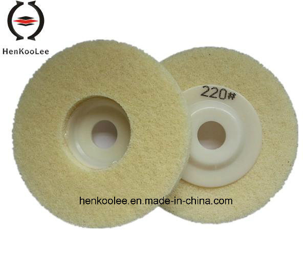 Diamond Grinding Polishing Wheels Made of Woolen