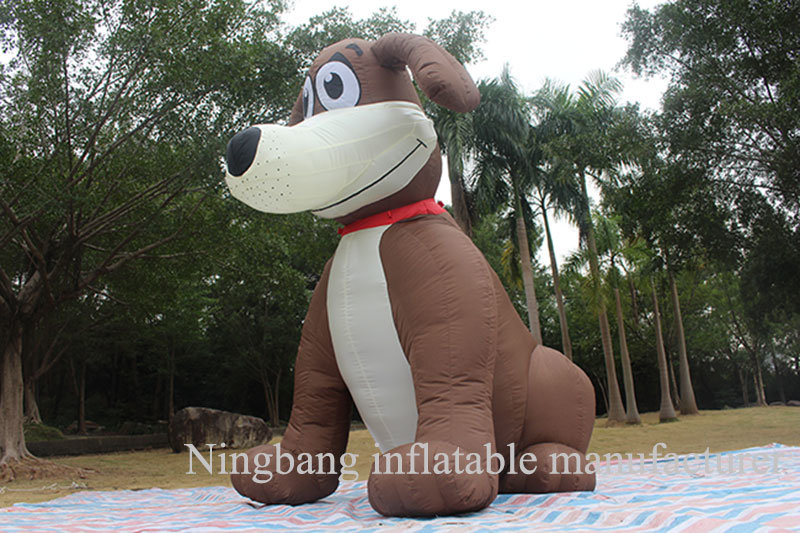 Giant Costume Animal Figure Moving Walking Action Inflatable Cartoon Dog