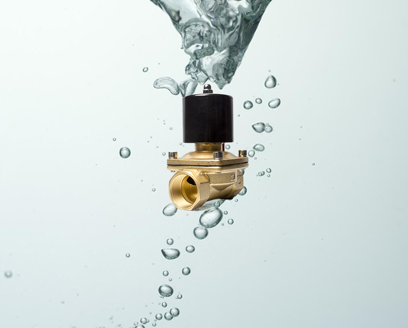 Brass Material 2W350-35 220V Electric Solenoid Water Valve
