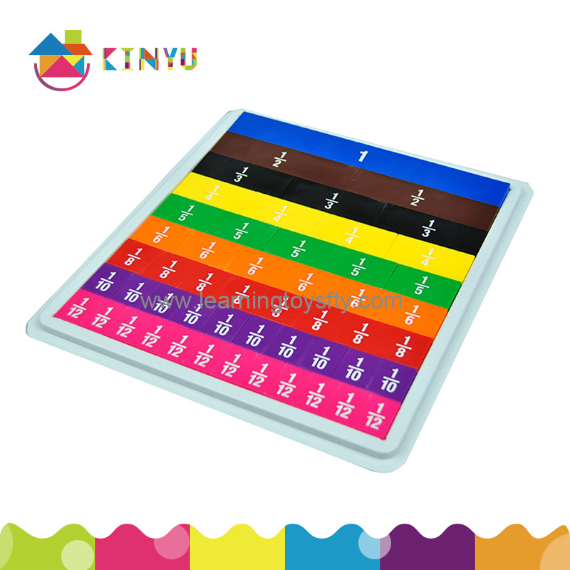 Learning Resources Rainbow Fraction Tiles (K021)