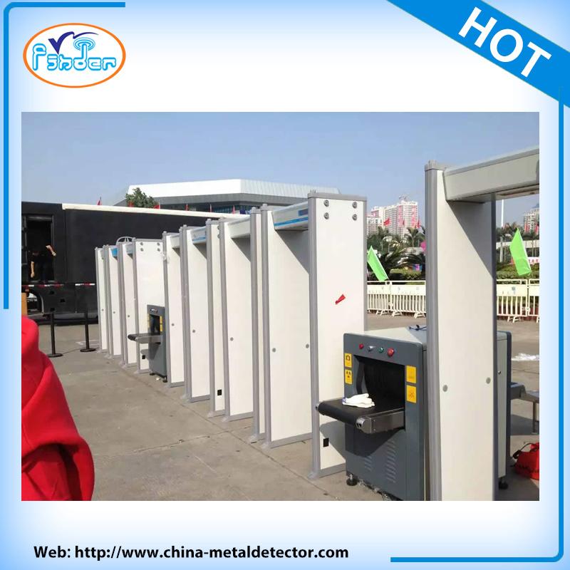 Door Frame Metal Detector Folding Metal Detector Airport Body Scanner