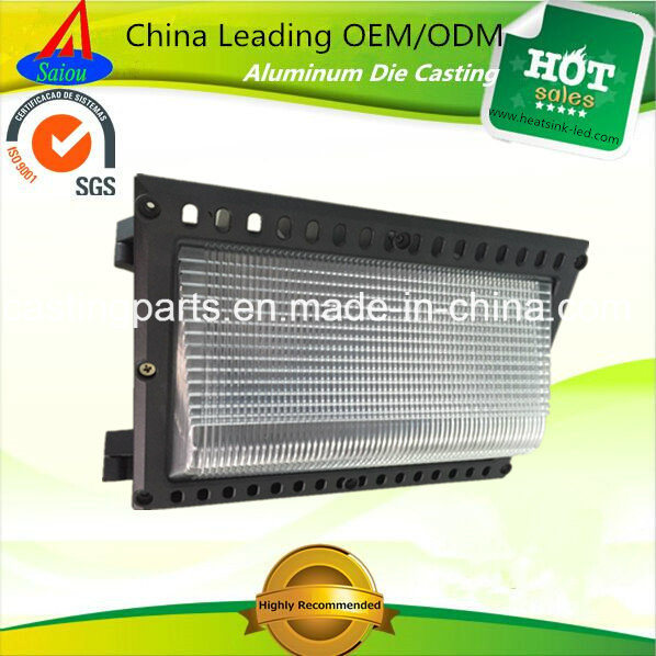 SGS Approved Die Casting LED Wallpack Lighting Aluminum Housing