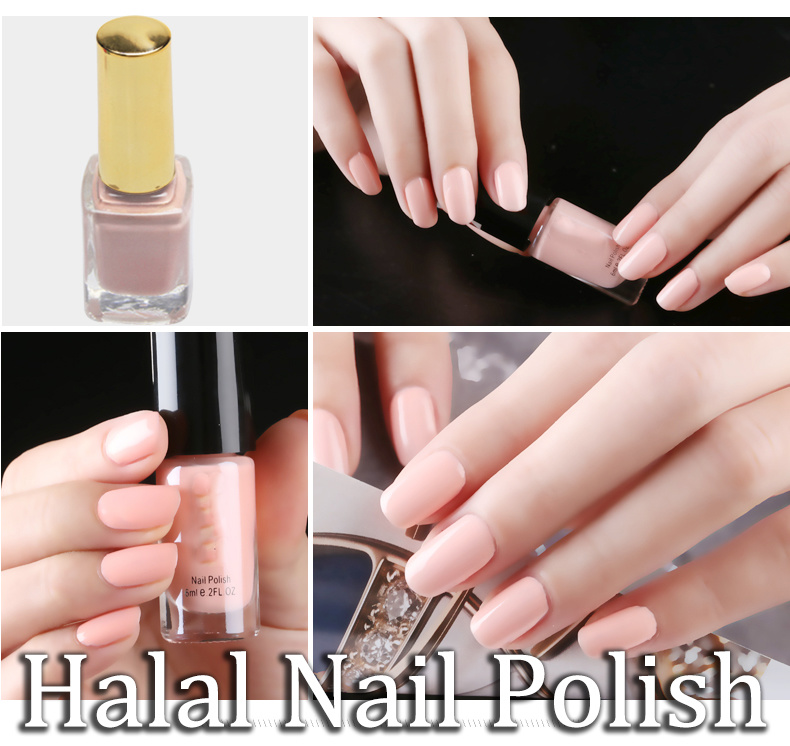 China Private Label Organic Peelable Halal Breathable Muslim Nail ...