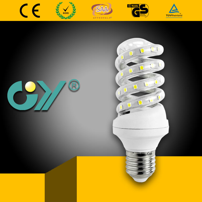 LED Energy Saving Lamp Spiral Lamp 11W E27/E14