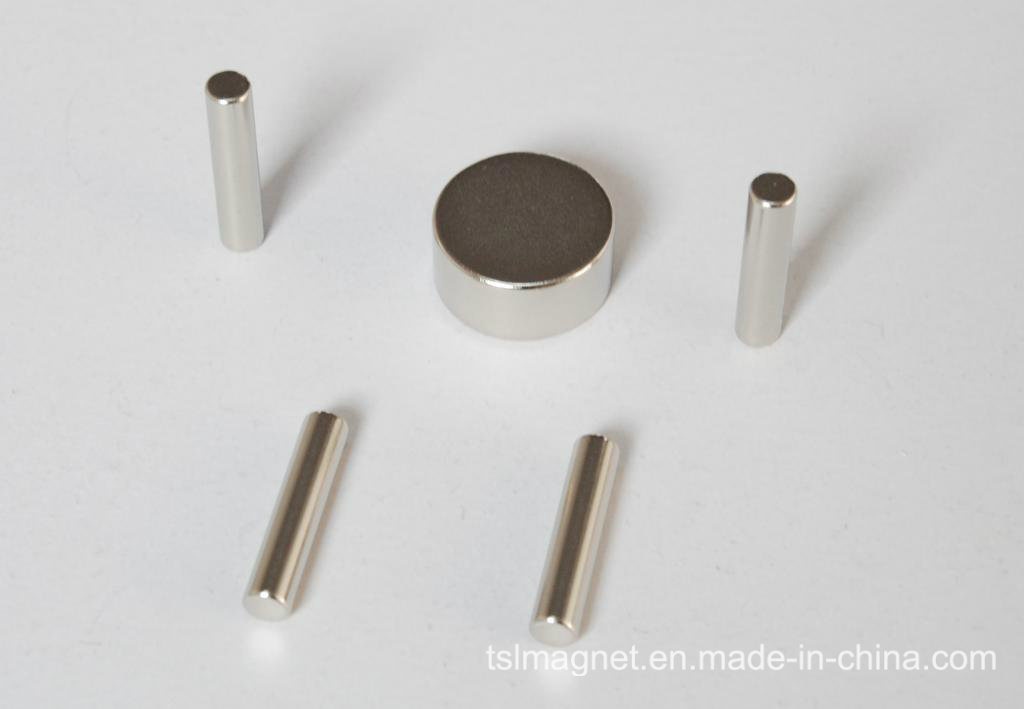 Rod Permanent Sintered Neodymium Rare Earth Magnet